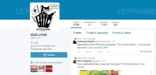 le-compte-twitter-du-gud-lyon-comprenant-le-post-faisant-l-apologie-de-la-shoah-capture-d-ecran