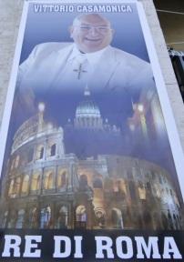 Vittorio Casamonica mafia mafieux egliese chretien rome rom tzigane