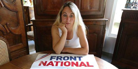 Anne-Sophie Leclère candidate FN carl lang parti de la france regionales taubira singe