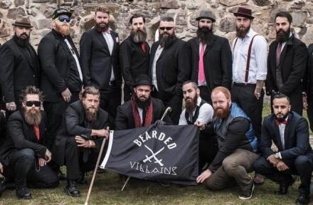 Bearded Villains barbus daech jihadiste suede police