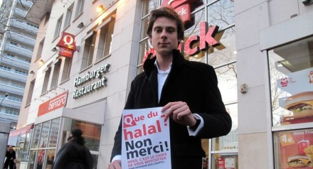 Charles Aslangul condmane isalm halal violence agression