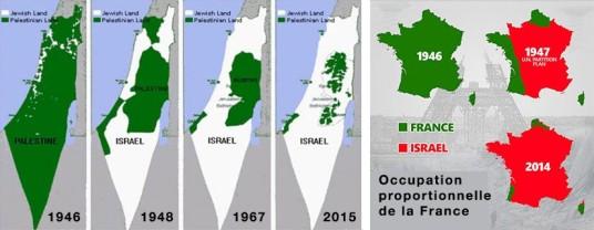Palestine colonisation france migrant israel genocide netoyage ethnique purification