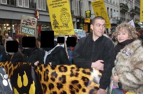 Serge Ayoub SDA Nathalie Krier Section Défense Animale Katya Veloso Esteban Murillo Clément Méric