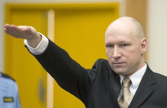 Anders Behring Breivik salut nazi national socialisme terroriste utoya fn identitaire extreme droite