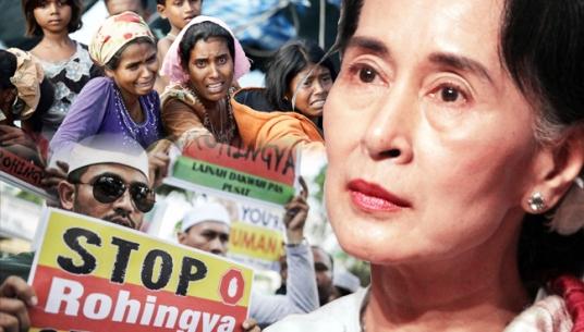 Aung San Suu Kyi Rohingyas muslim genocide islam birmanie