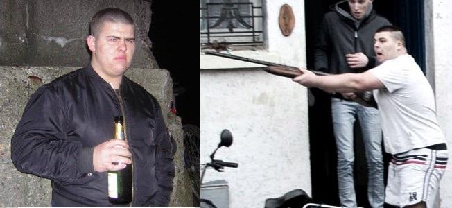 calais fusil migrant nazi extreme droite FN Gaël Rougemont gauche antifa jungle