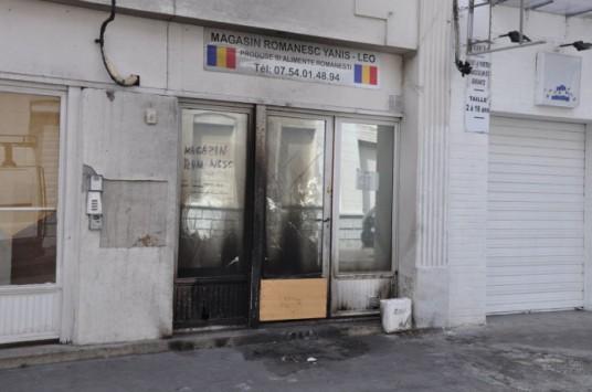 racisme anti roumian roms magazin brule camps roumanie