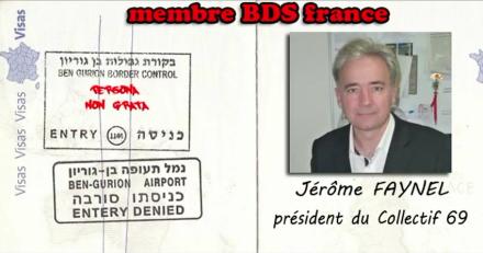 brigade juive bds fichage