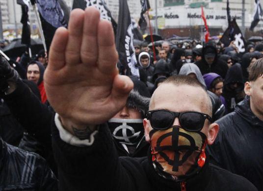 Extreme droite neo nazi identitaire salut