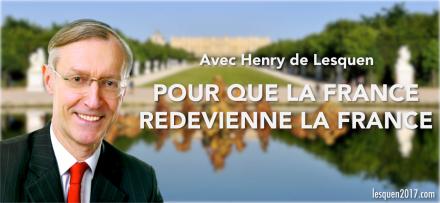 Henry de Lesquen negre candidat elction presidentielle FN