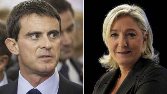 Manuel Valls Marine le Pen islam islamophobie