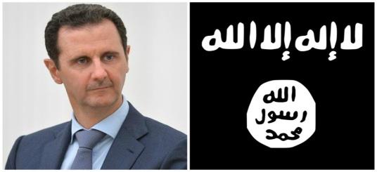 bachar_el-assad_daech petrole collabore syrie guerre etat islamique jihadistes