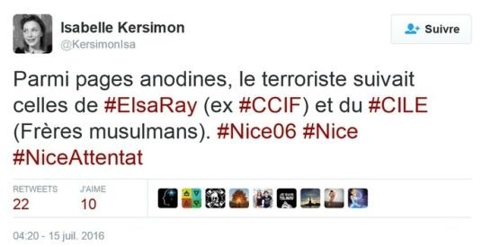 Isabelle Kersinon ccif islamophobie elsa ray livre contre enquete mensonge