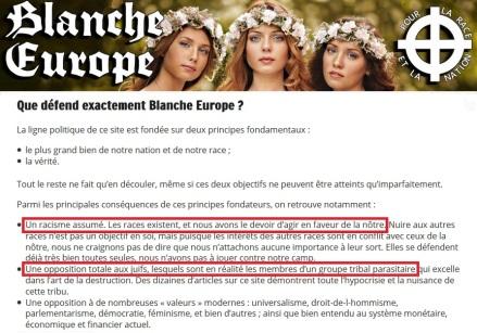 blanche-europe-site-de-la-fachosphere-pronant-racisme-assume-et-opposition-totale-aux-juifs