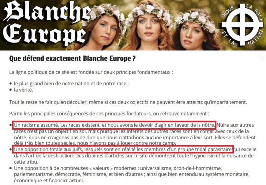 blanche-europe-site-de-la-fachosphere-pronant-racisme-assume-et-opposition-totale-aux-juifs