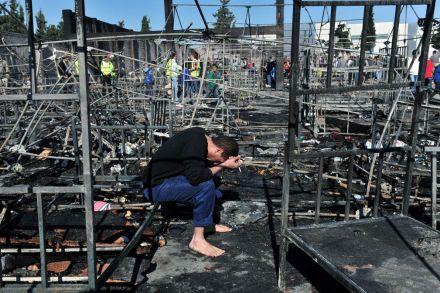 incendie-centre-refugie-migrant