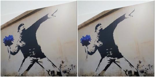 marine-le-pen-se-reapproprie-une-oeuvre-de-banksy-artiste-engage-pour-les-migrants