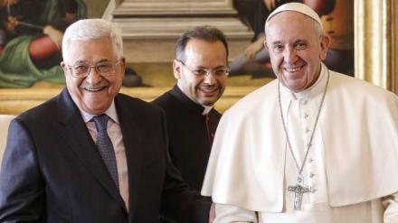 le-pape-recoit-abbas-qui-inaugure-l-ambassade-palestinienne-au-vatican