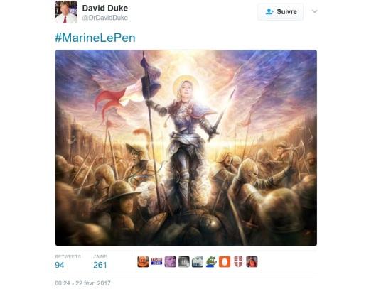 david-duke-klu-klux-klan-marine-le-pen-antisemitisme-fn