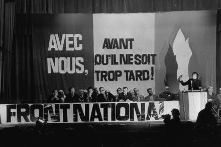 Fondation front national fn 1972 fondateurs